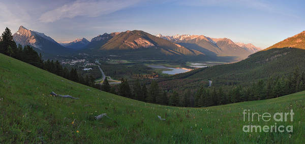 Photograph - View From Mount Norquay by Charles Kozierok