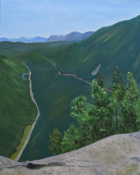 Painting - View From Mount Willard by Linda Feinberg