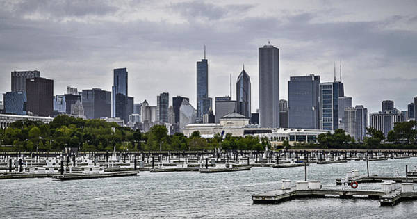 Photograph - View From Northerly Island by Julie Palencia
