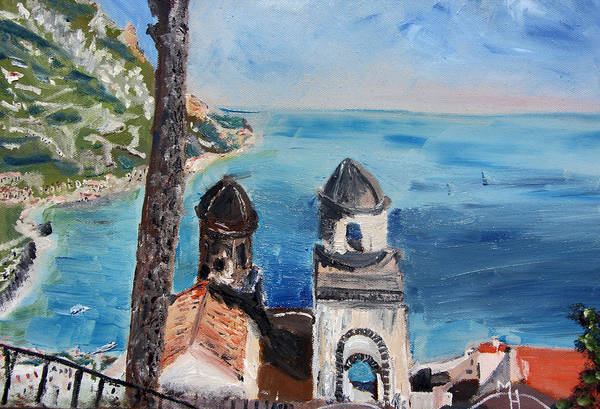 Painting - View From Ravello by Michael Helfen