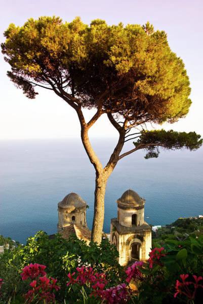 Villa Photograph - View From The 13th Century Villa Rufolo by Glenn Beanland