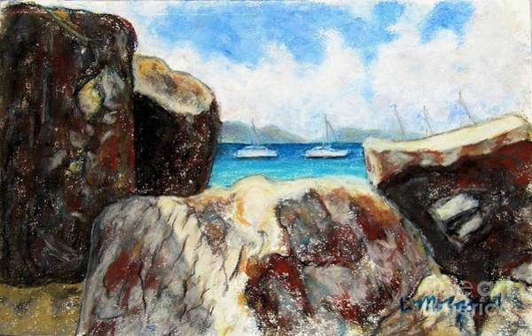 Painting - View Of Devil's Bay by Laurie Morgan
