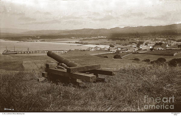 Photograph - View From The Fort Presidio Of Monterey Circa 1885 by California Views Archives Mr Pat Hathaway Archives