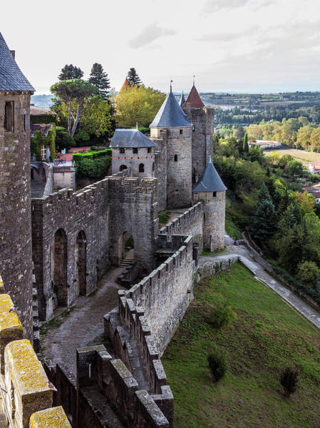 Fortified Wall Art - Photograph - View From The Fortified Medieval Walls by Izzet Keribar