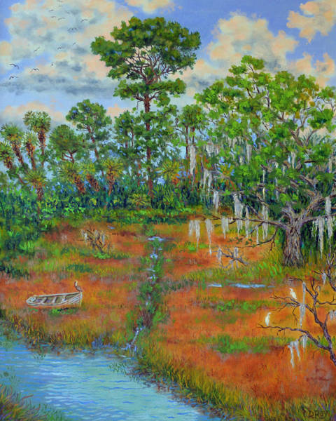 Oak Harbor Painting - View From The Marsh by Dwain Ray