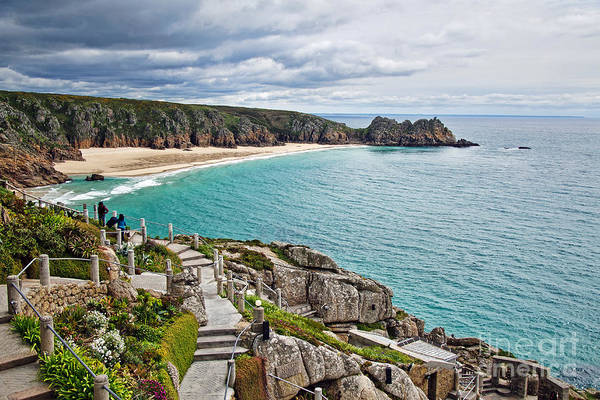Rowena Photograph - View From The Minack Theatre by Susie Peek