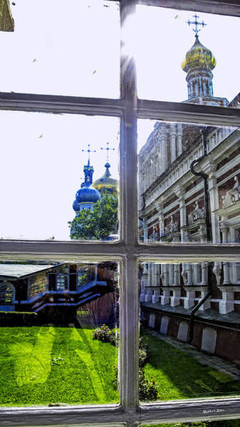 Wall Art - Photograph - View From The Novodevichy Convent - Russia by Madeline Ellis