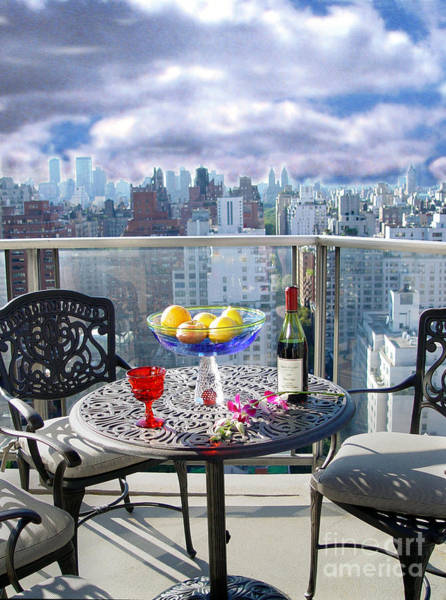 Wall Art - Photograph - View From The Terrace by Madeline Ellis