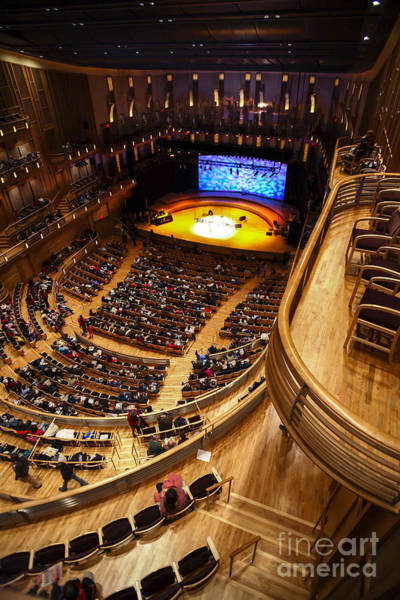 Photograph - View From The Upper Balcony At Strathmore Music Center by William Kuta