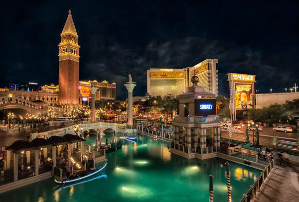 Photograph - View From The Venetian by Eduardo Tavares