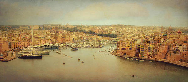 Yacht Wall Art - Photograph - View From Upper Barakka, Valletta, Malta by Ellen Van Deelen