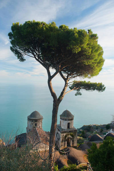 Villa Photograph - View From Villa Rufolo by Christopher Groenhout