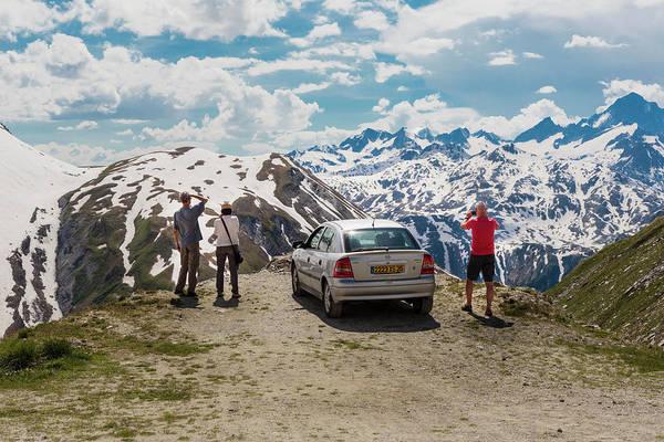 Wall Art - Photograph - View In Furka Pass, Switzerland by Ken Welsh