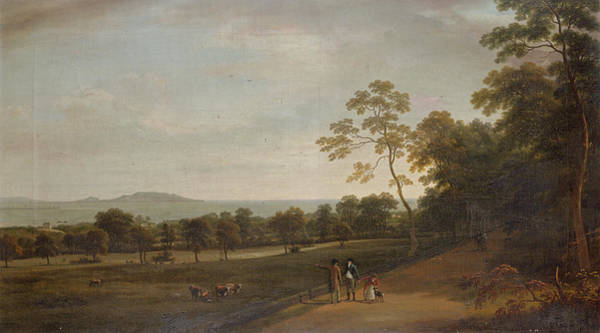 Estate Painting - View In Mount Merrion Park, 1806 by William Ashford