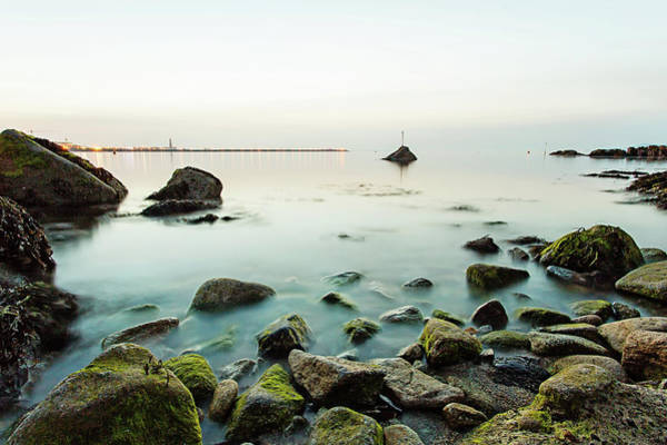 Dun Photograph - View In The Evening From The Forty Foot by Sigita Playdon Photography