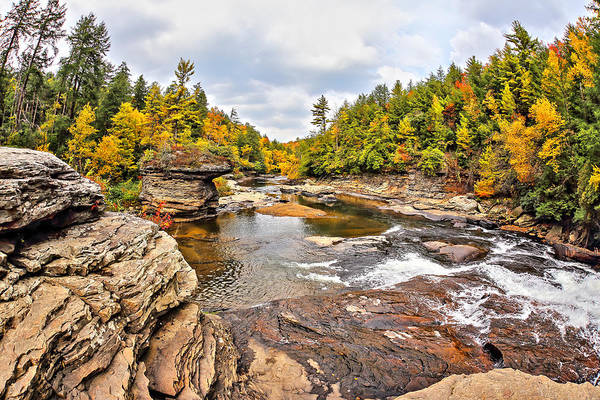 Swallow Falls State Park Wall Art - Photograph - View Looking Down From Swallow Falls--color by SCB Captures