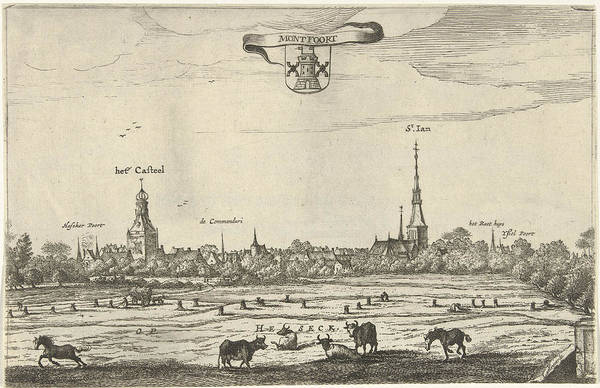 Interpret Drawing - View Montfoort, Steven Van Lamsweerde by Steven Van Lamsweerde