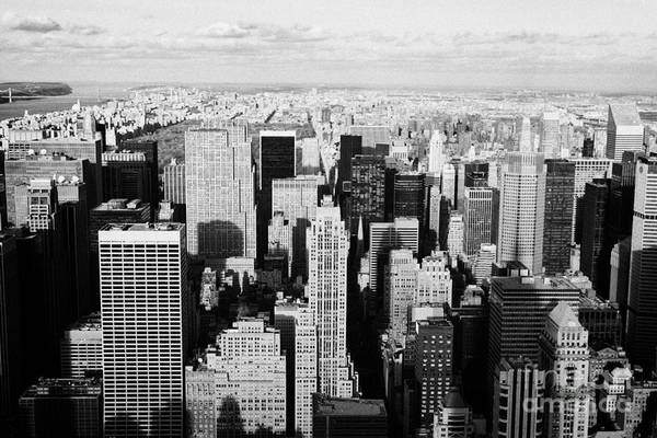 Reach For The Sky Wall Art - Photograph - View North Towards Central Park From Empire State Building New York by Joe Fox