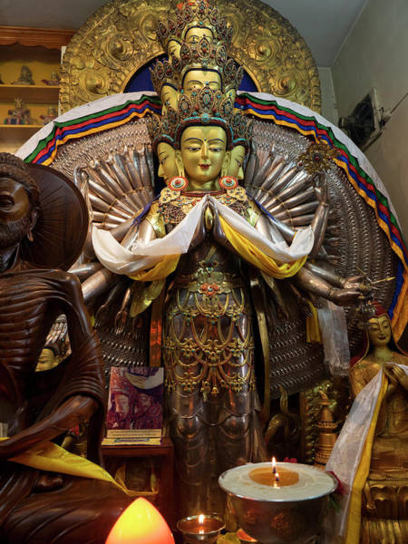 Wall Art - Photograph - View Of Avalokiteshvara Bodhisattva by Panoramic Images
