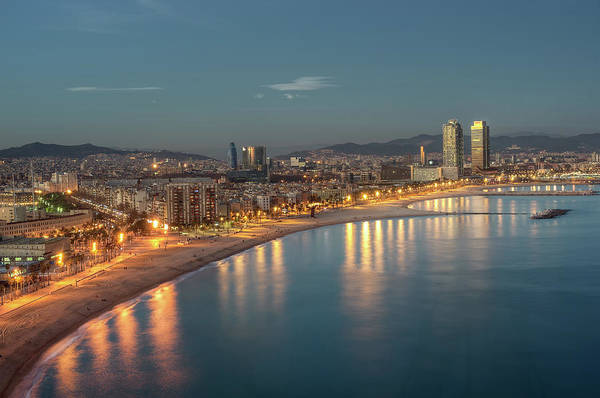 Boulevard Photograph - View Of Barcelona by Marcp dmoz On Flickr