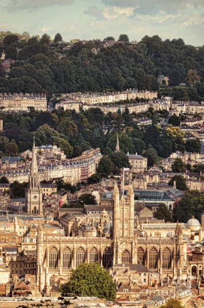 Bath Abbey Photograph - View Of Bath England by Jill Battaglia