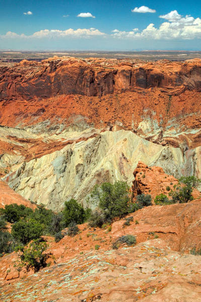 Photograph - View Of Canyonlands National Park In Utah. by Rob Huntley