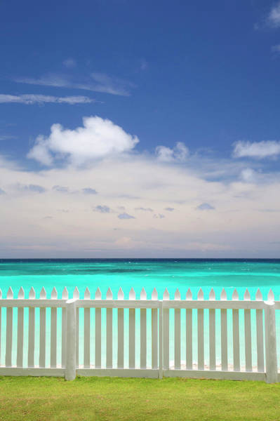 Barbados Photograph - View Of Caribbean Sea by Grant Faint