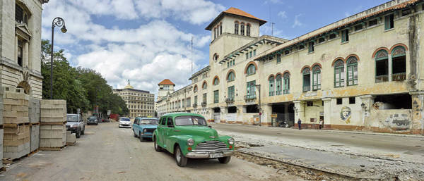 Calle Wall Art - Photograph - View Of Cars On A Street, Calle San by Panoramic Images