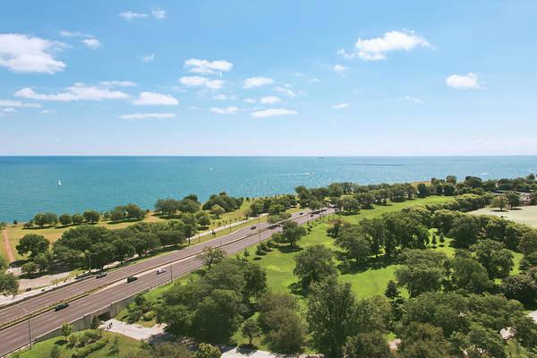 Lake Photograph - View Of Chicago, Lake Michigan, Lake by Sasha Weleber