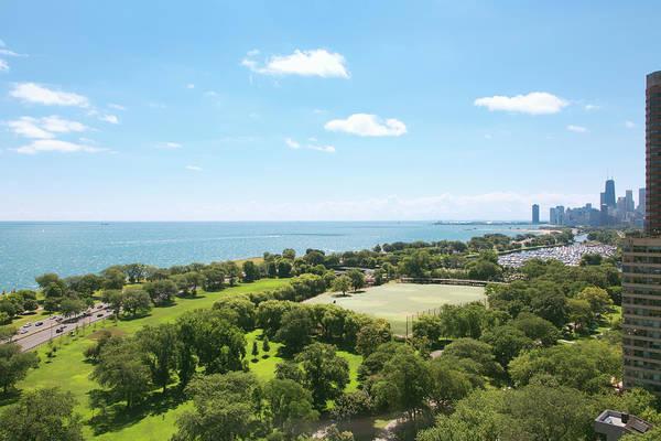 Lake Photograph - View Of Chicago, Lake Michigan by Sasha Weleber