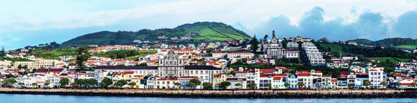 Azores Photograph - View Of Cityscape On An Island by Panoramic Images