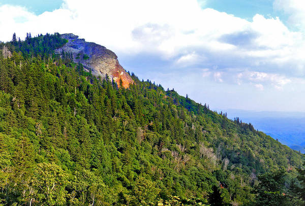 Photograph - View Of Devil's Courthouse Rock by Duane McCullough