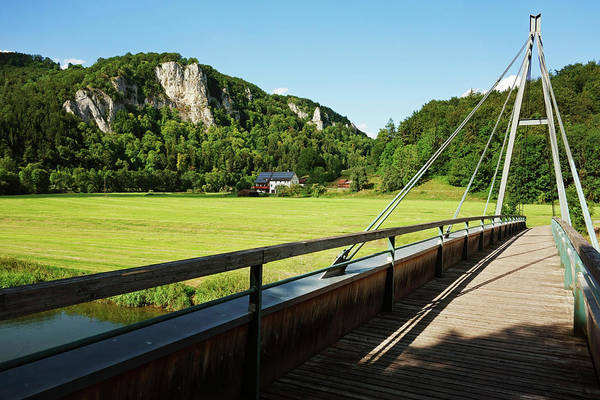 Danube Photograph - View Of Donautal, Danube Valley, Near by Jochen Schlenker