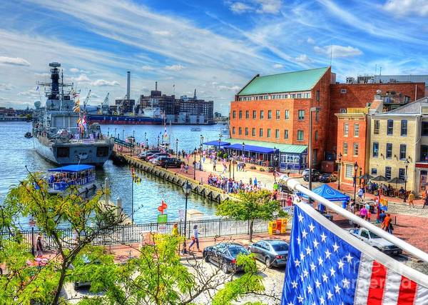 Wall Art - Photograph - View Of Fells Point by Debbi Granruth