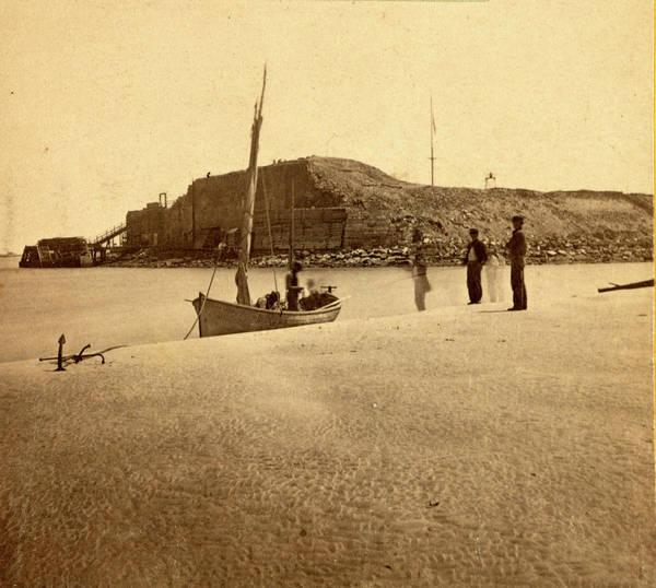 Fort Sumpter Photograph - View Of Fort Sumpter I.e. Sumter, Charleston Harbor by Litz Collection
