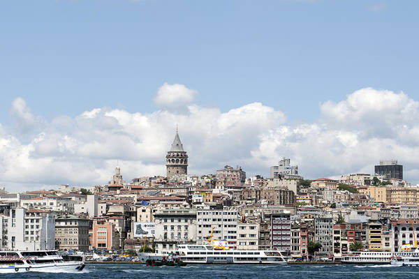 Romantic Wall Art - Photograph - View Of Istanbul by Ernesto Cinquepalmi