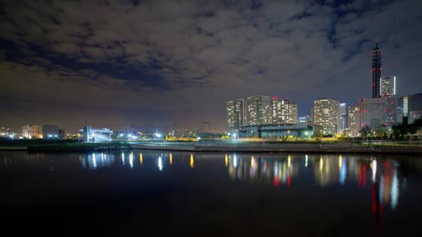 Kanagawa Wall Art - Photograph - View Of Katabira River In Yokohama At by Digipub