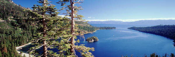Lake Tahoe Photograph - View Of Lake Tahoe And Emerald Bay In by Danita Delimont