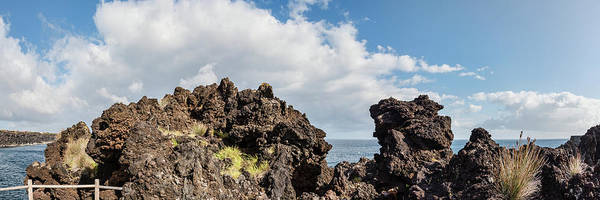 Azores Photograph - View Of Lava Rock On The Coast, Pico by Panoramic Images