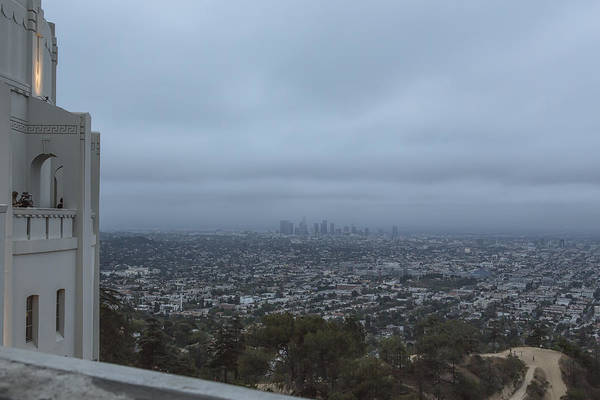 Photograph - View Of Los Angeles From Griffith Park Observatory by Belinda Greb