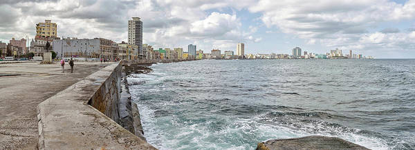 Malecon Wall Art - Photograph - View Of Malecon From San Salvador De La by Panoramic Images