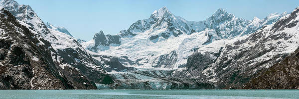Glacier Bay Photograph - View Of Margerie Glacier In Glacier Bay by Panoramic Images