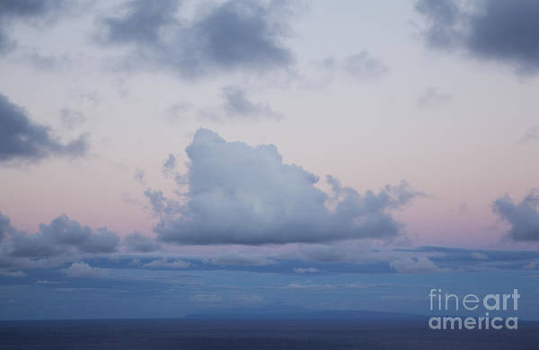 Photograph - View Of Molokai From Oahu by Charmian Vistaunet