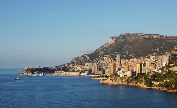 Monaco Photograph - View Of Monaco Rom Cap Martin by Studio Box