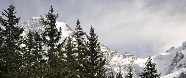 Peacefulness Photograph - View Of Mt Monch And Jungfraujoch by Panoramic Images
