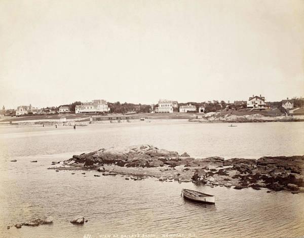Bailey's Beach Photograph - View Of Newport, C1900 by Granger