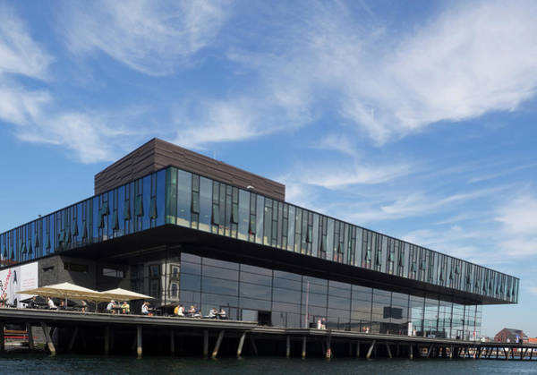 Playhouse Photograph - View Of Royal Danish Playhouse by Panoramic Images