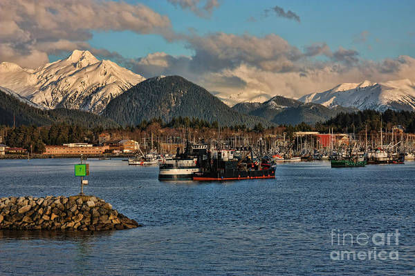 Wall Art - Photograph - View Of Sitka From The Sound by Scarlett Images Photography
