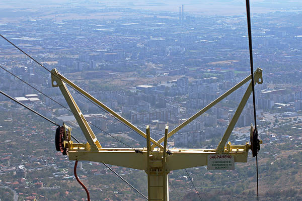 Photograph - View Of Sliven From Chair Lift by Tony Murtagh