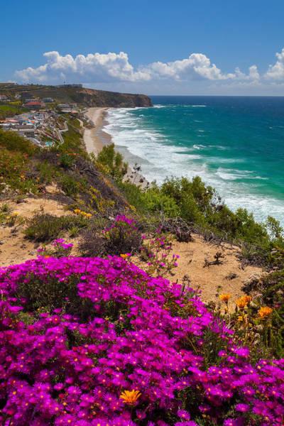 View Of Strand Beach And Dana Point Headland Art Print